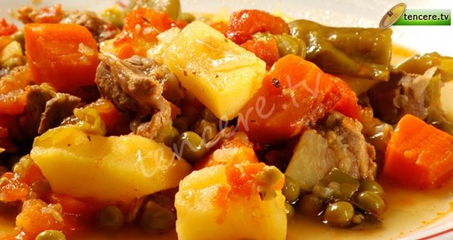 Güveçte Sebze Kebabı tarifi