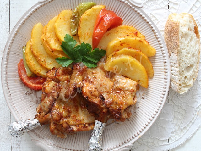 Fırında Tavuk Pirzola tarifi