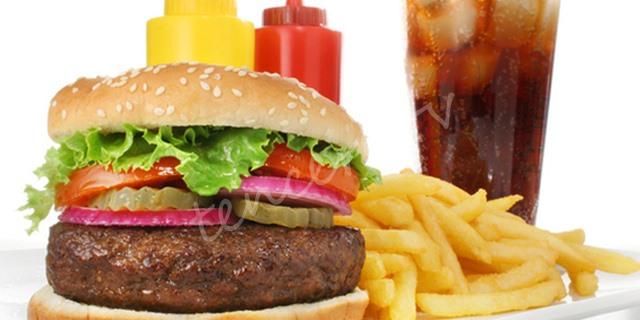 Hamburger ve kola tüketenler dikkat tarifi