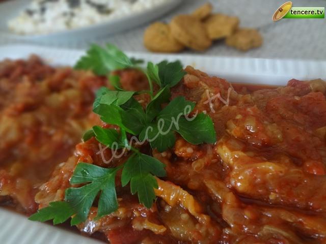 Kuru Biberli Patlıcan Söğürme tarifi