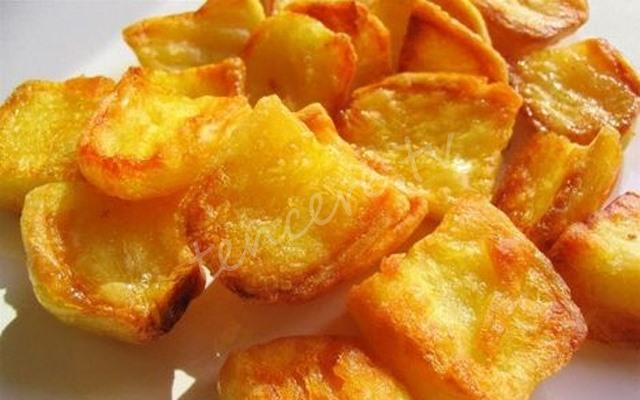 Şeker yerine patates yiyin! tarifi