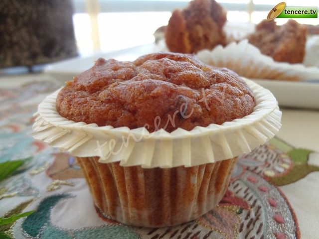 Hurmalı Cevizli Muffin tarifi
