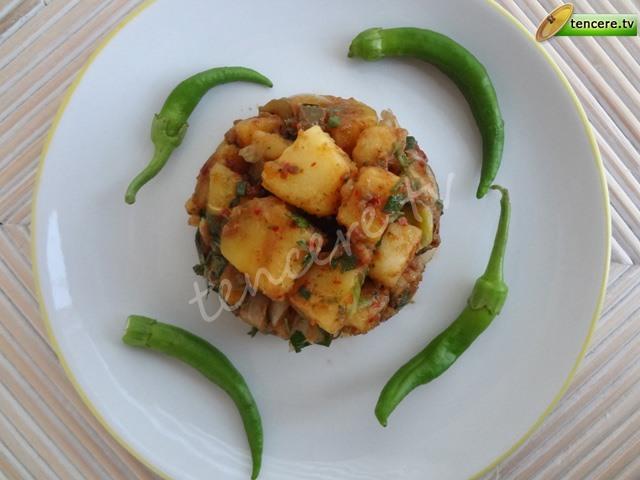 Patates Salatası (nar ekşili) tarifi