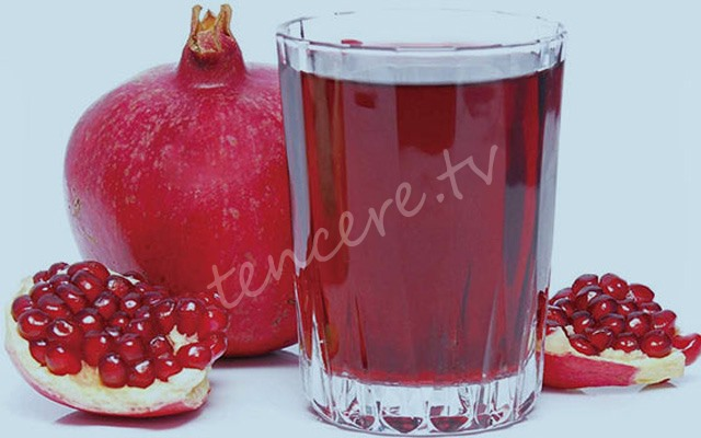 Kış hastalıklarına karşı nar ve üzüm suyu tarifi