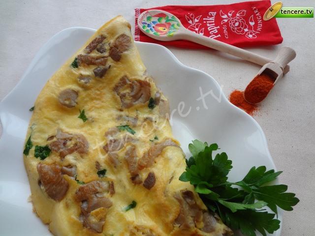 Mantarlı Omlet tarifi