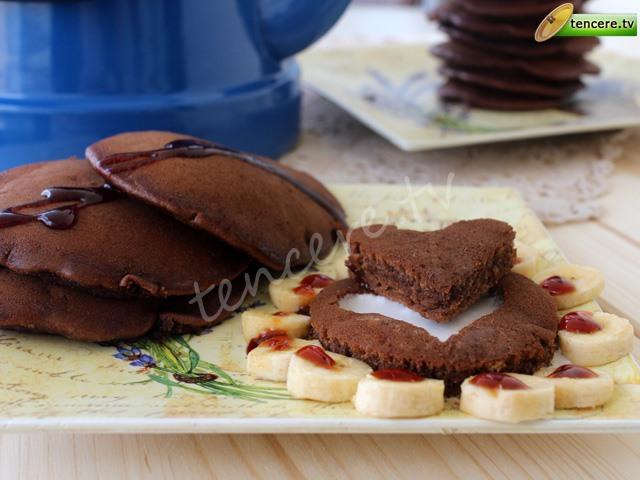 Çikolatalı Muzlu Pankek tarifi