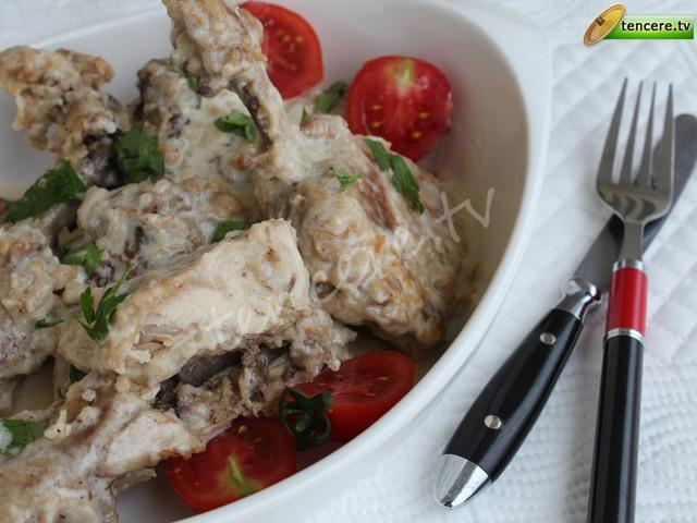 Limonlu Kremalı Tavuk ve Makarna tarifi
