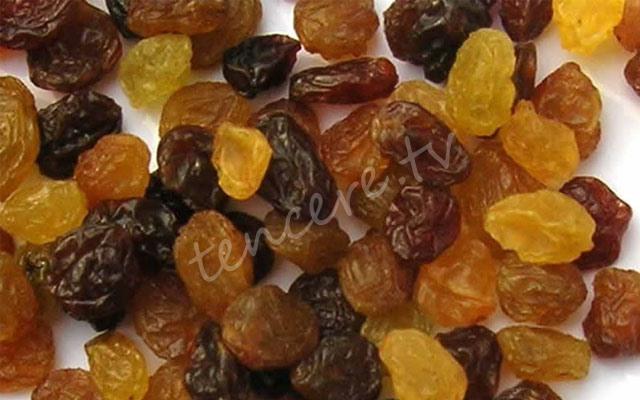 Strese karşı günde bir avuç kuru üzüm tarifi