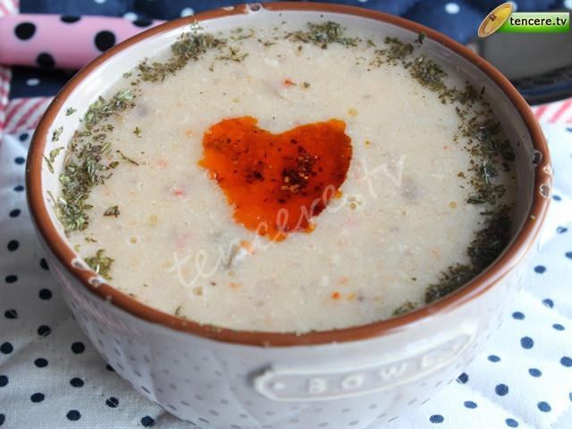 Sütlü Kerevizli Kış Çorbası tarifi
