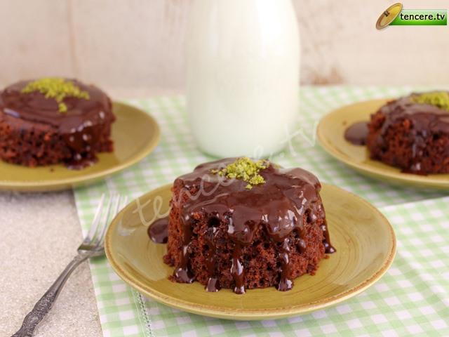 Mikrodalgada Çikolatalı Kek tarifi