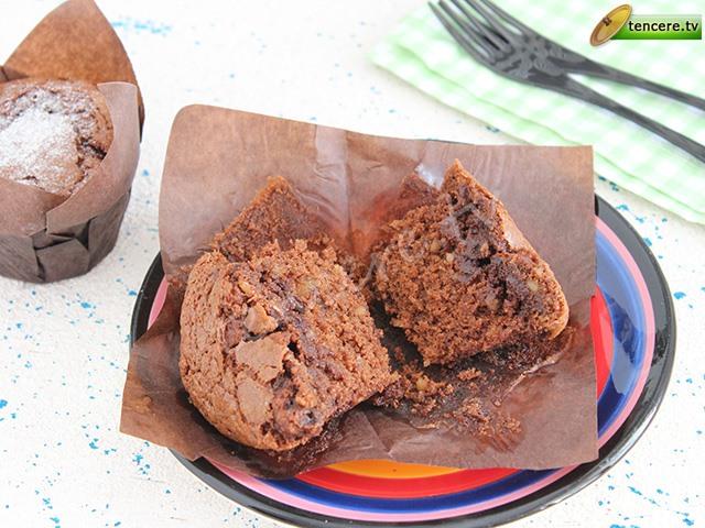 Üç Çikolatalı Kahveli Muffin tarifi