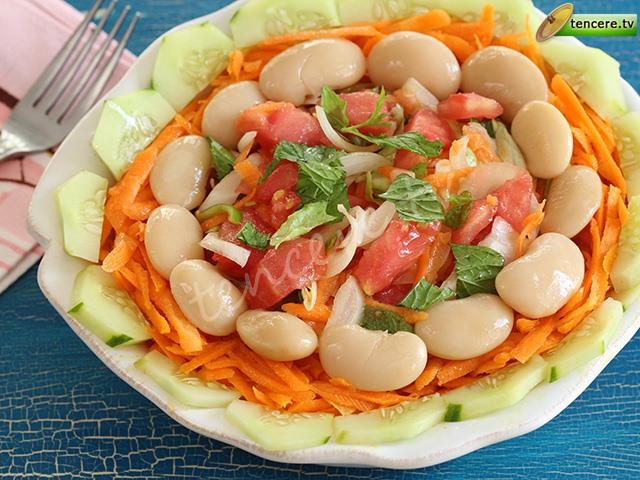 Fasülyeli Şık Salata tarifi