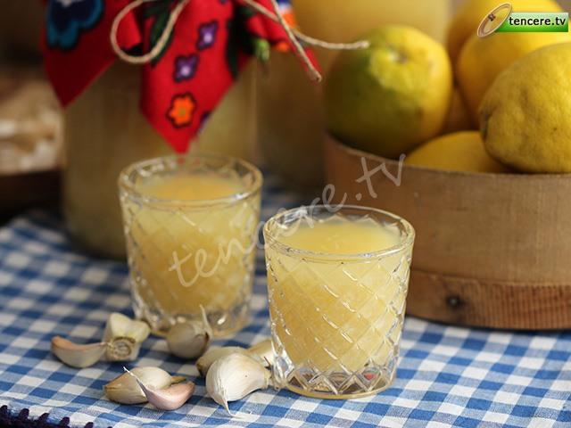 Limon Suyu Sarımsak Kürü tarifi