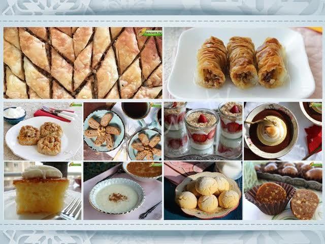 Kolay ve lezzetli bayram tatlıları tarifi