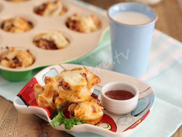 Kalan Ekmekten Kahvaltılık Muffin tarifi