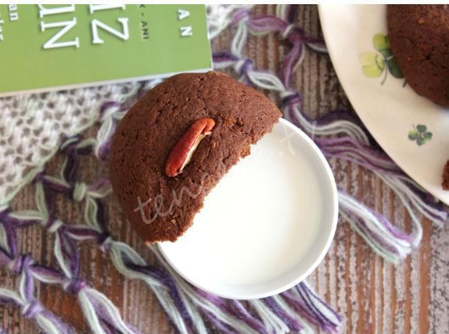 Balkabaklı Çikolatalı Kurabiye tarifi