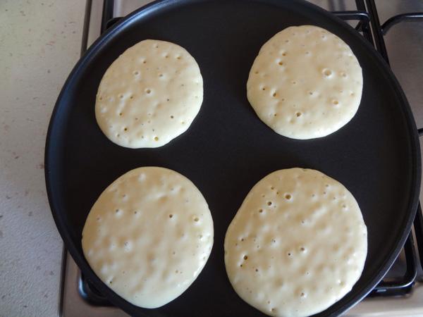 Pankek pişirimi